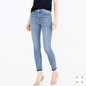J Crew Lookout High Rise Skinny Crop